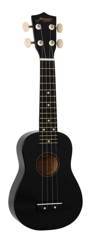 Morgan Concert Ukulele UK-320 BLK
