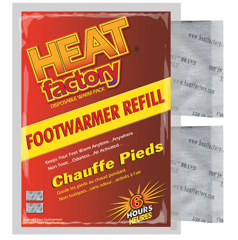 HEAT FACTORY - FOOT WARMERS - 1 PAIR