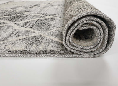Frisee Rug 635A L.GREY / CREAM