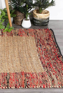 Mahal Rug Red