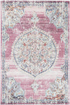 Salsa Medalion Transitional Blush Rug