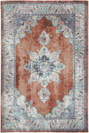 Salsa Transitional Rust Rug