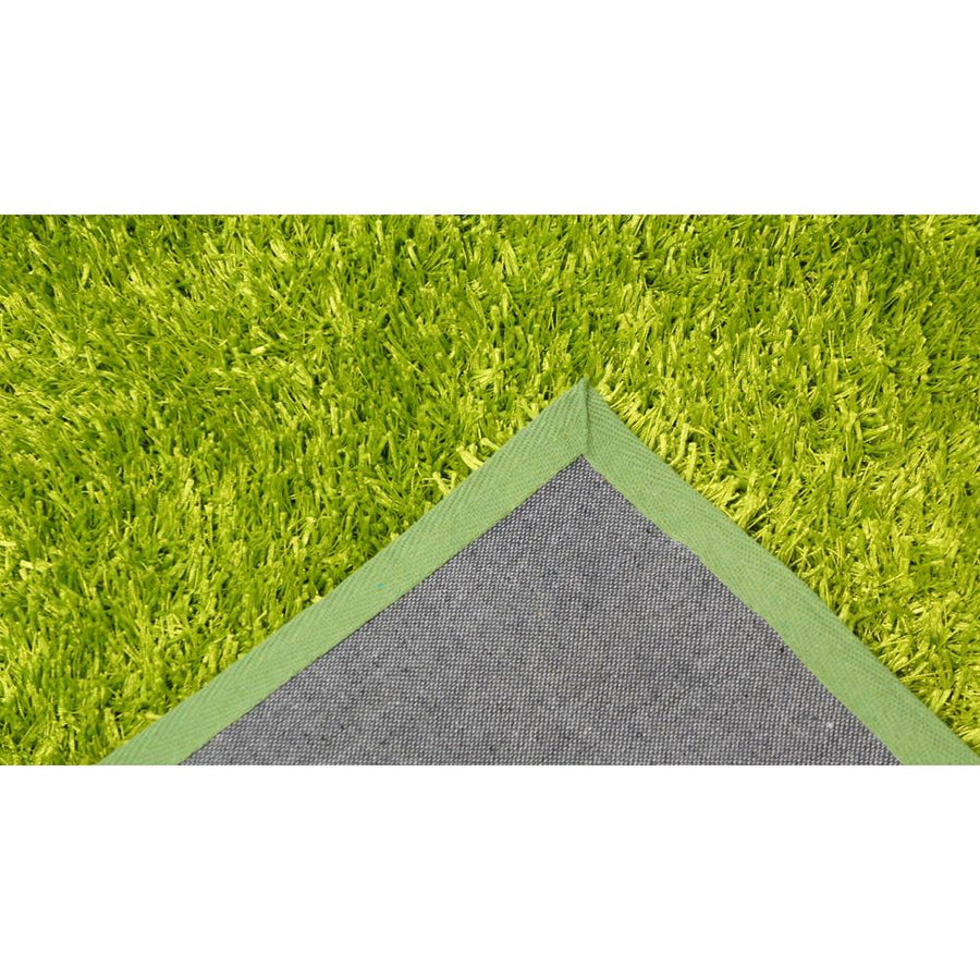 Tango Light Green Shaggy Rug