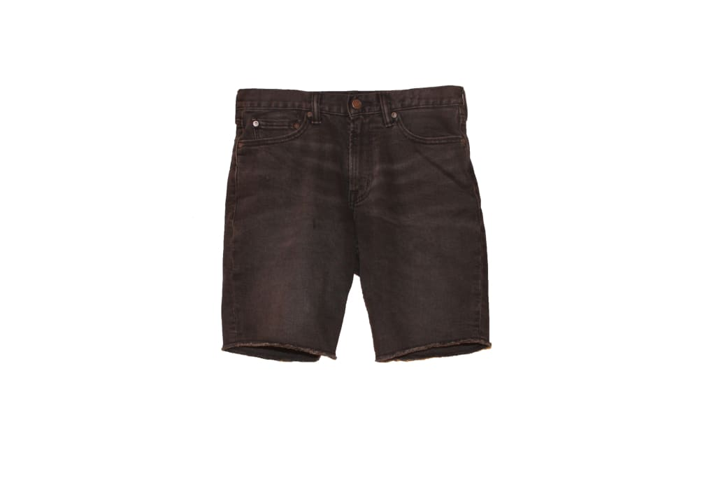 Black Bear Denim Shorts