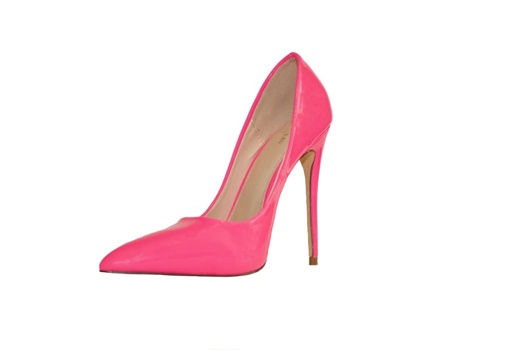 Fuchsia High Heel