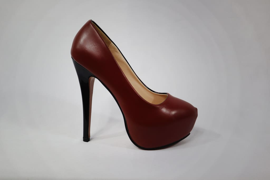 Khrysos Chokolate Pumps