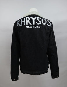 Khrysos Coal Lamb Denim Jacket Ii