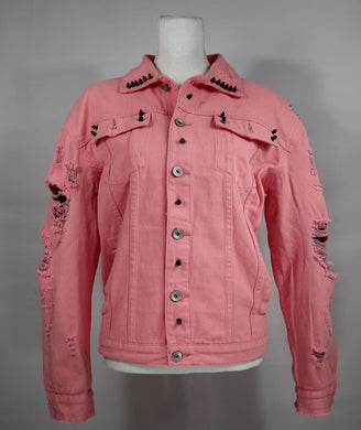 Pink Flame Denim