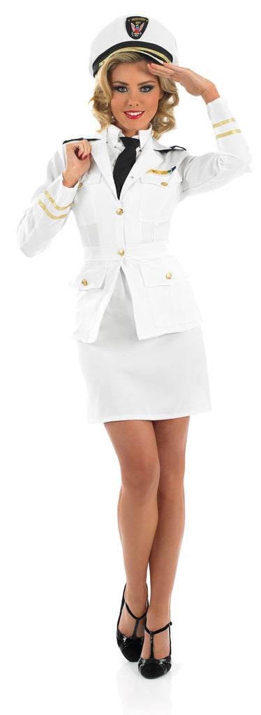 1940's Naval Officer Ladies Sailor Costume