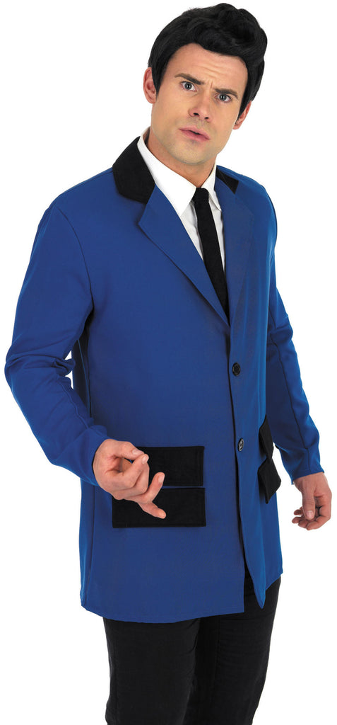 1950s Teddy Boy Blue Costume