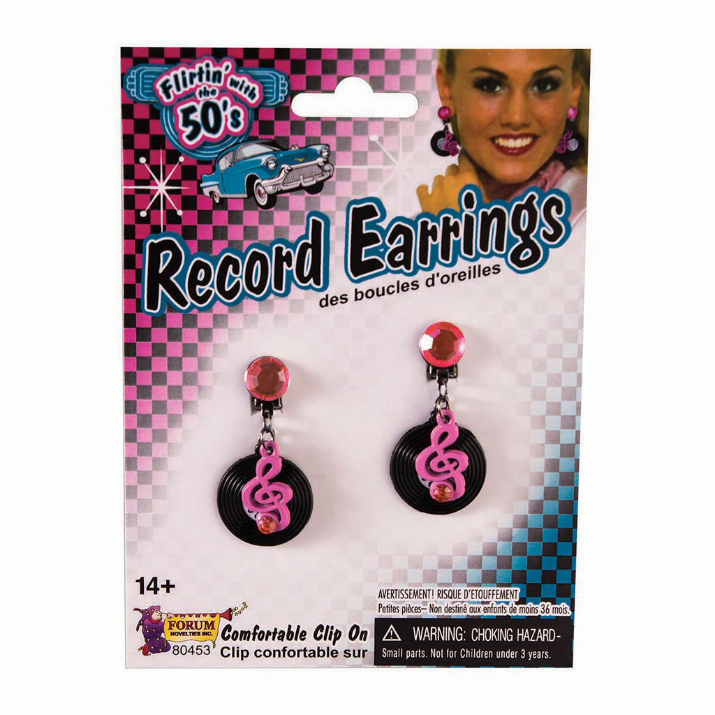 50's Rock and Roll Earrings