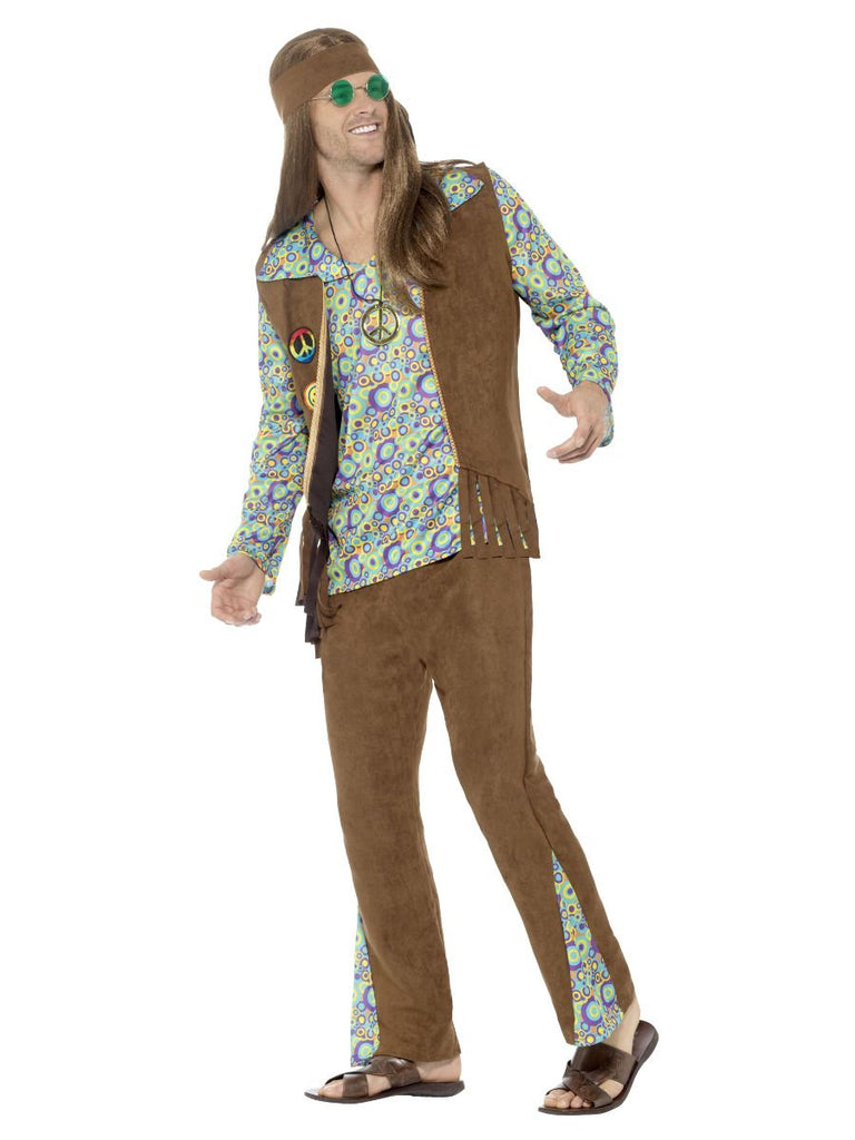 60's Hippie fancy dress outfit for men