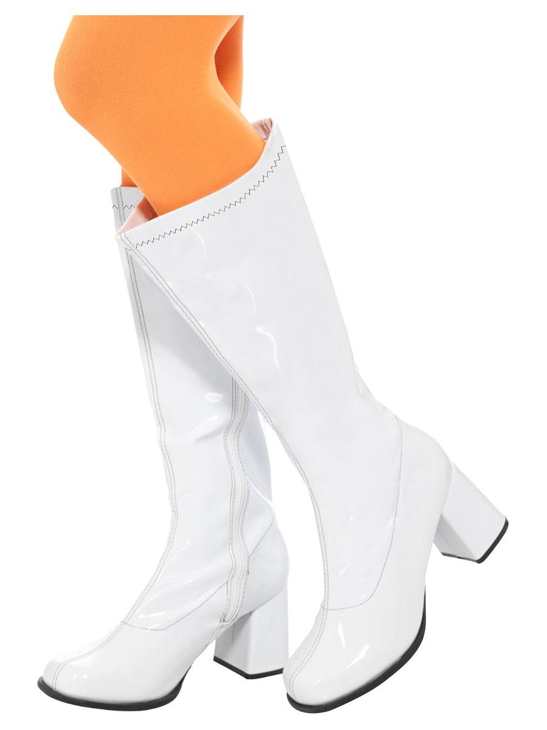 1960's and 70's GoGo White Boots