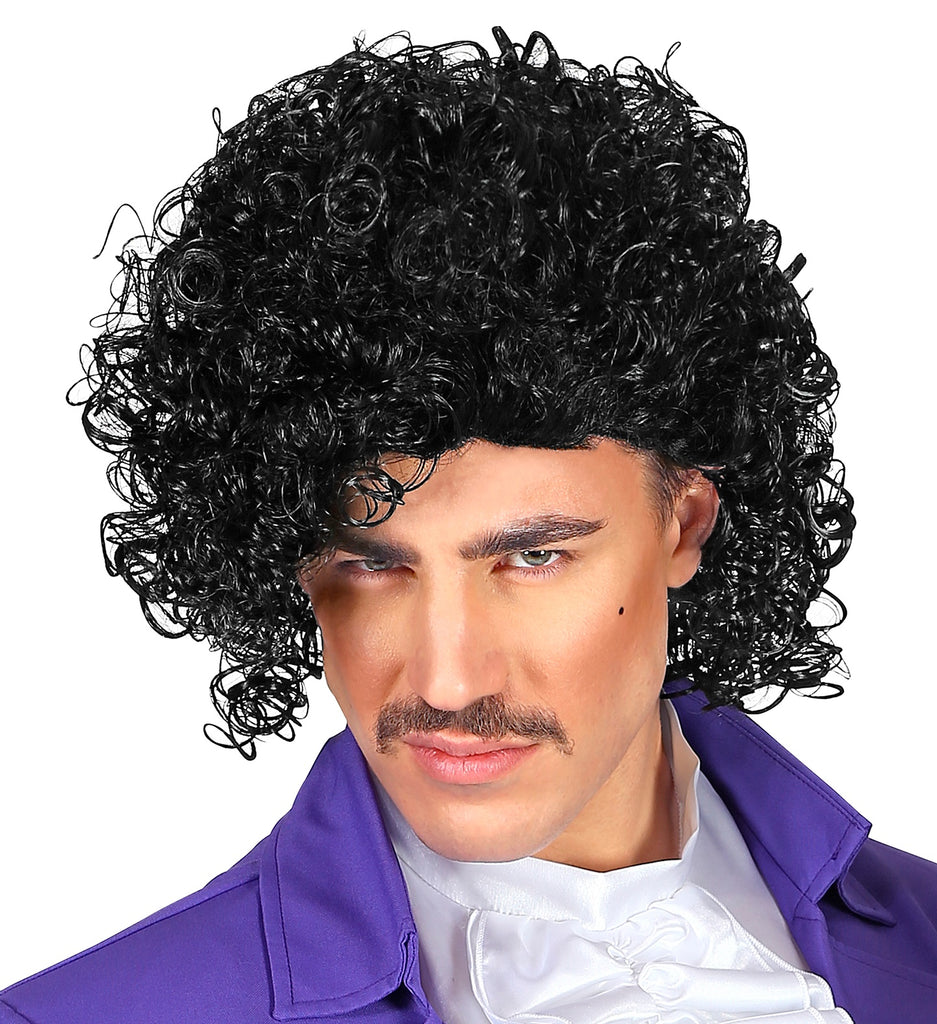 80's Rock Star Prince Wig