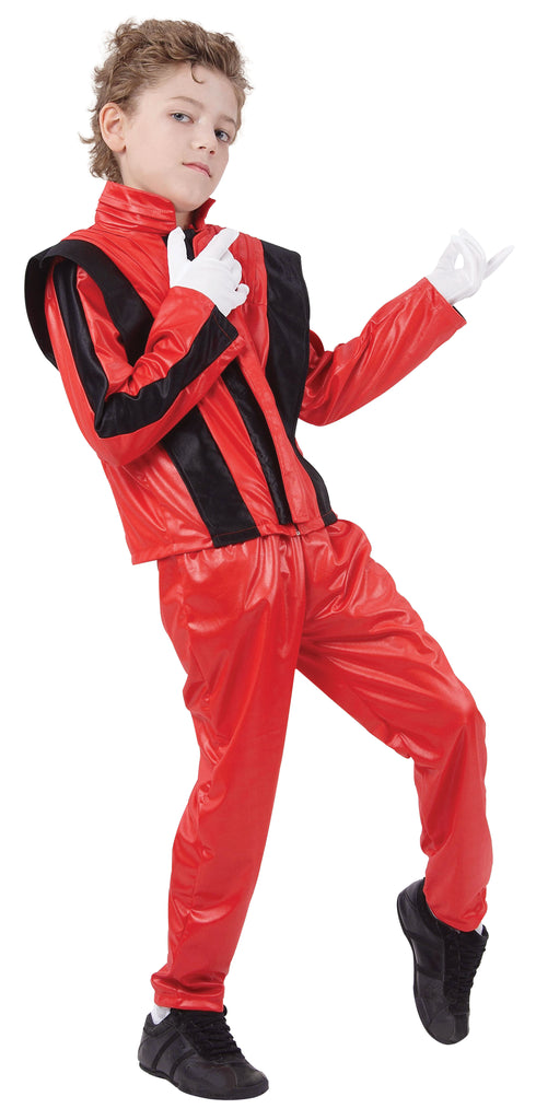 80s Thriller Superstar Childs Michael Jackson Costume