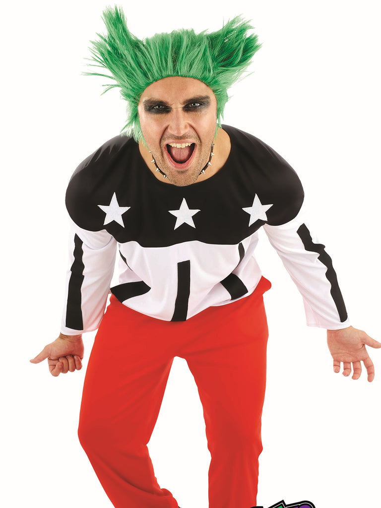 90's Rave Starter Prodigy fancy dress costume.