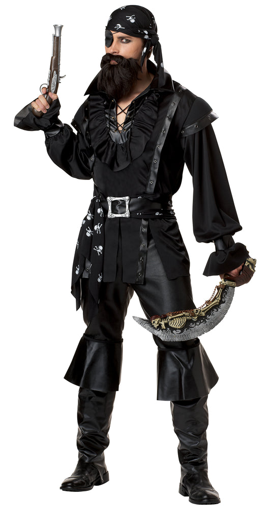 Men's Plundering Pirate Deluxe Costume
