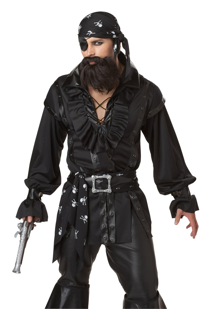 Plundering Pirate Deluxe Costume adult
