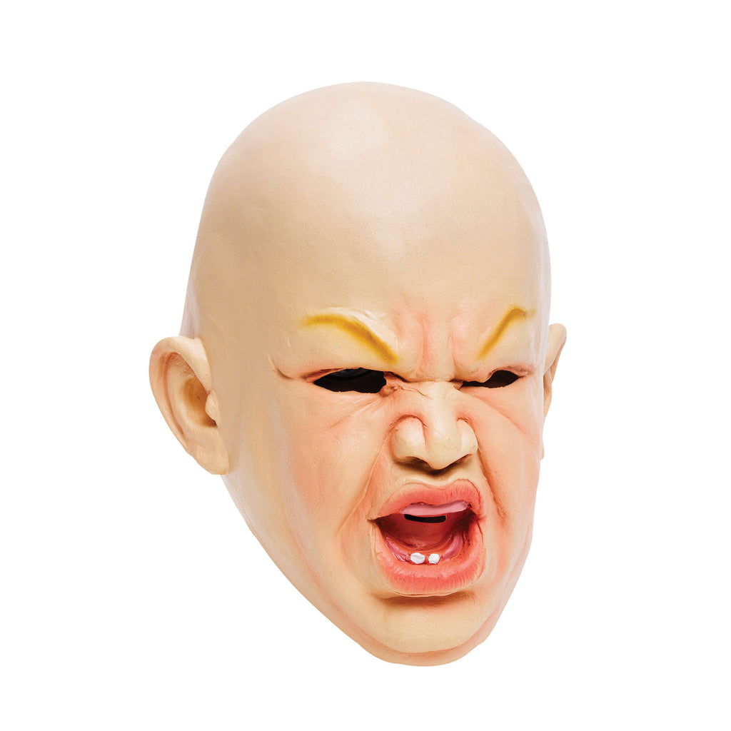 Adult Angry Baby Overhead Rubber Mask