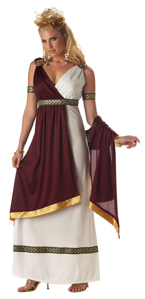 Rule the empire in style in this ladies Roman Empress Costume