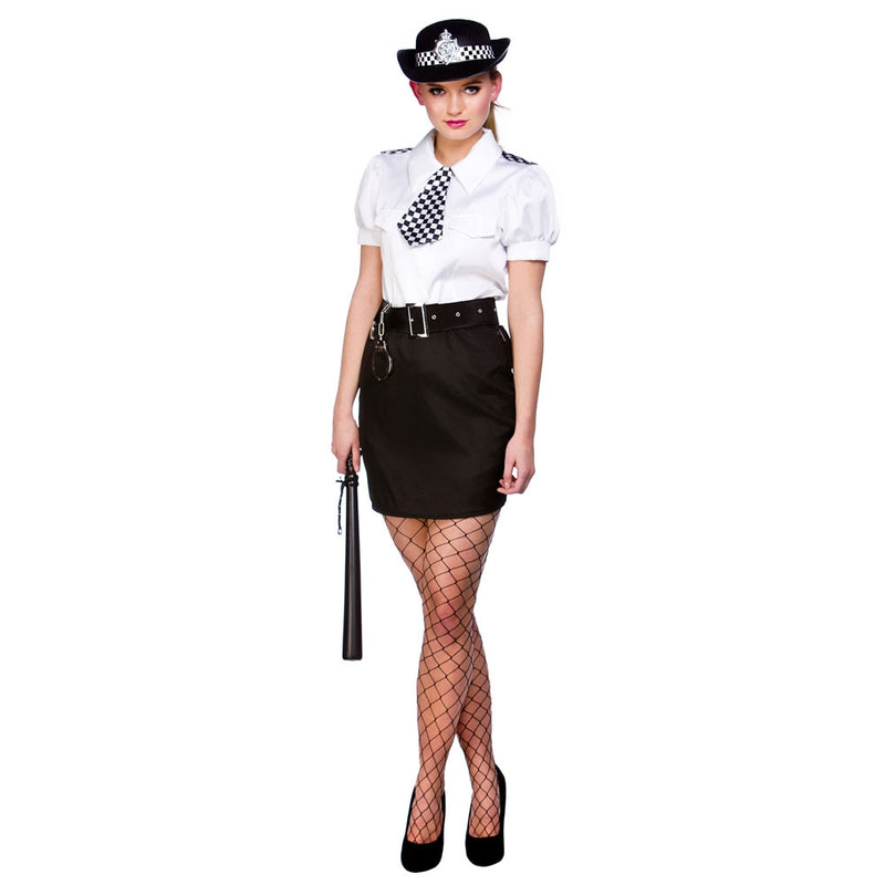 Adults Constable Cutie Fancy Dress costume