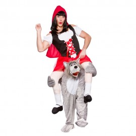 Carry Me Wolf Red Riding Hood Costume