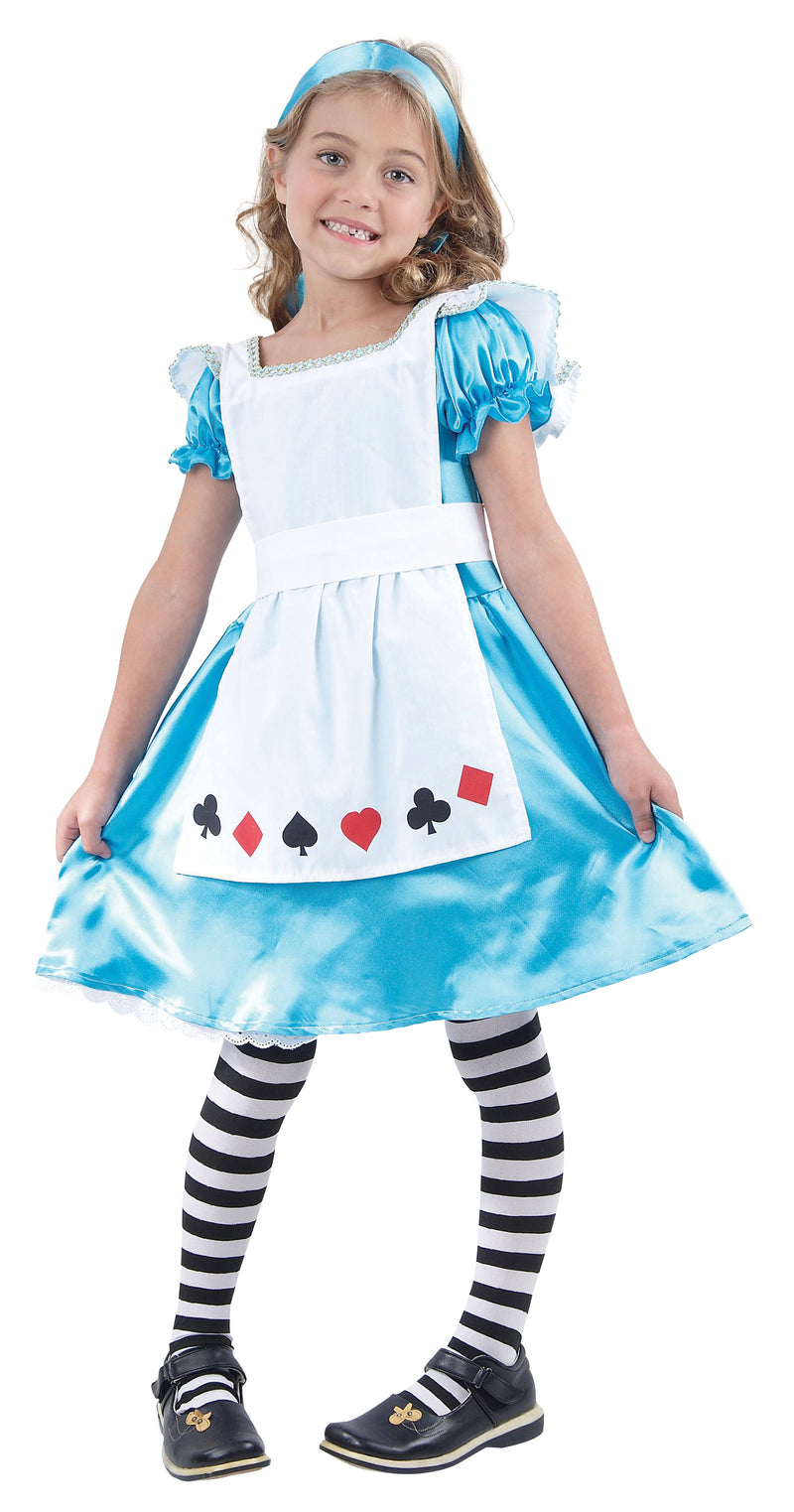 Alice In Wonderland Girl's Costume