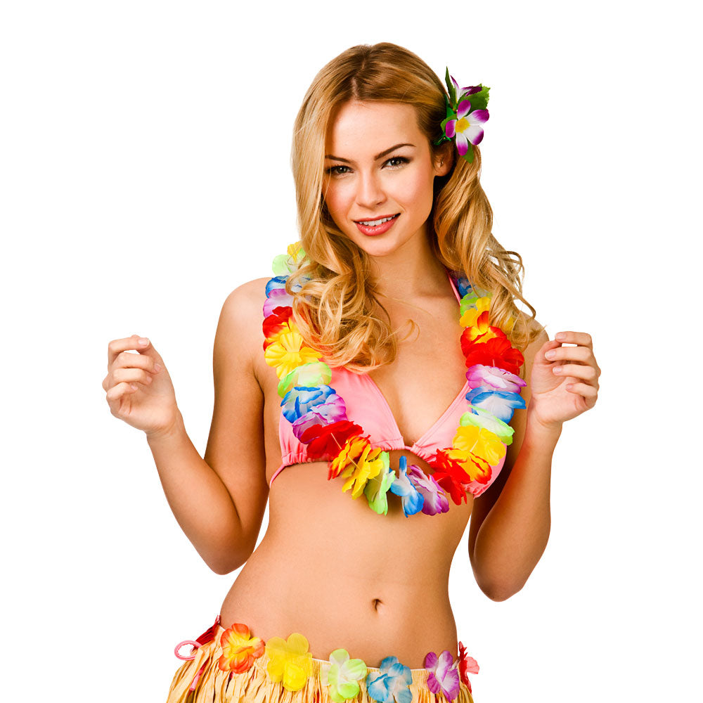 Aloha Hawaiian Lei Multicoloured
