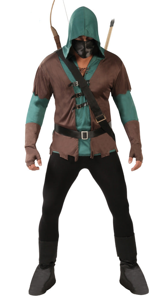 Arrow or Medieval Archer Robin Hood Fancy Dress Costume