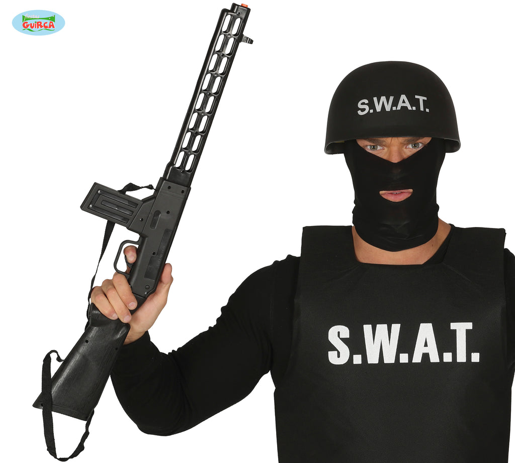 SWAT Assault Rifle Gun With Sound 69cm