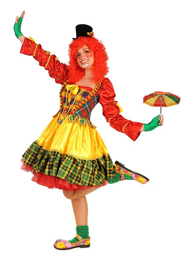 Augusta The Clown Ladies fancy dress costume.