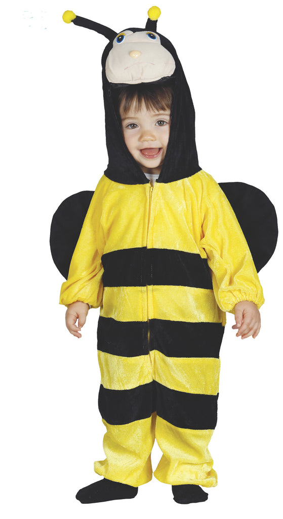 Little Baby Bee fancy dress outfit includes Jumpsuit with hood and Wings