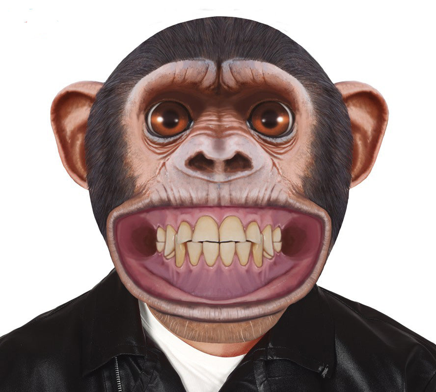 Big Head Chimp Oversized Mask