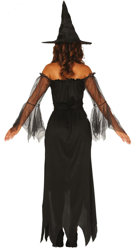 Black Sequin Witch Costume