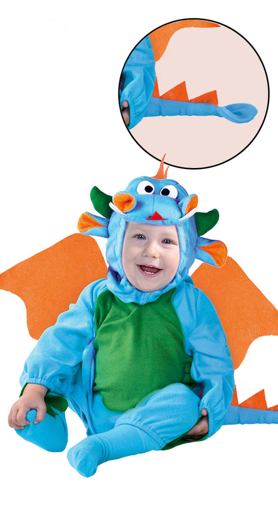 Blue Baby Dragon Toddler Costume