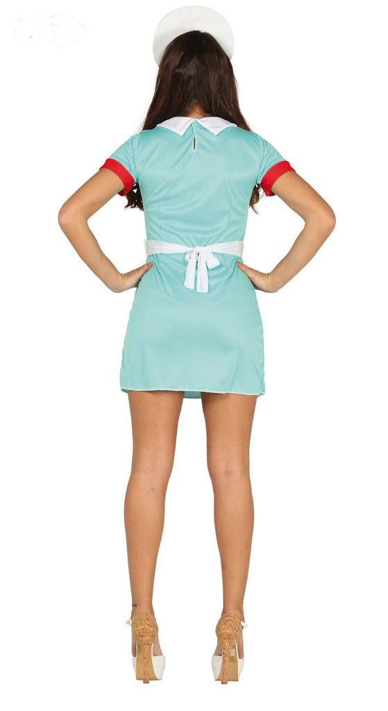 Blue Nurse Costume Adult