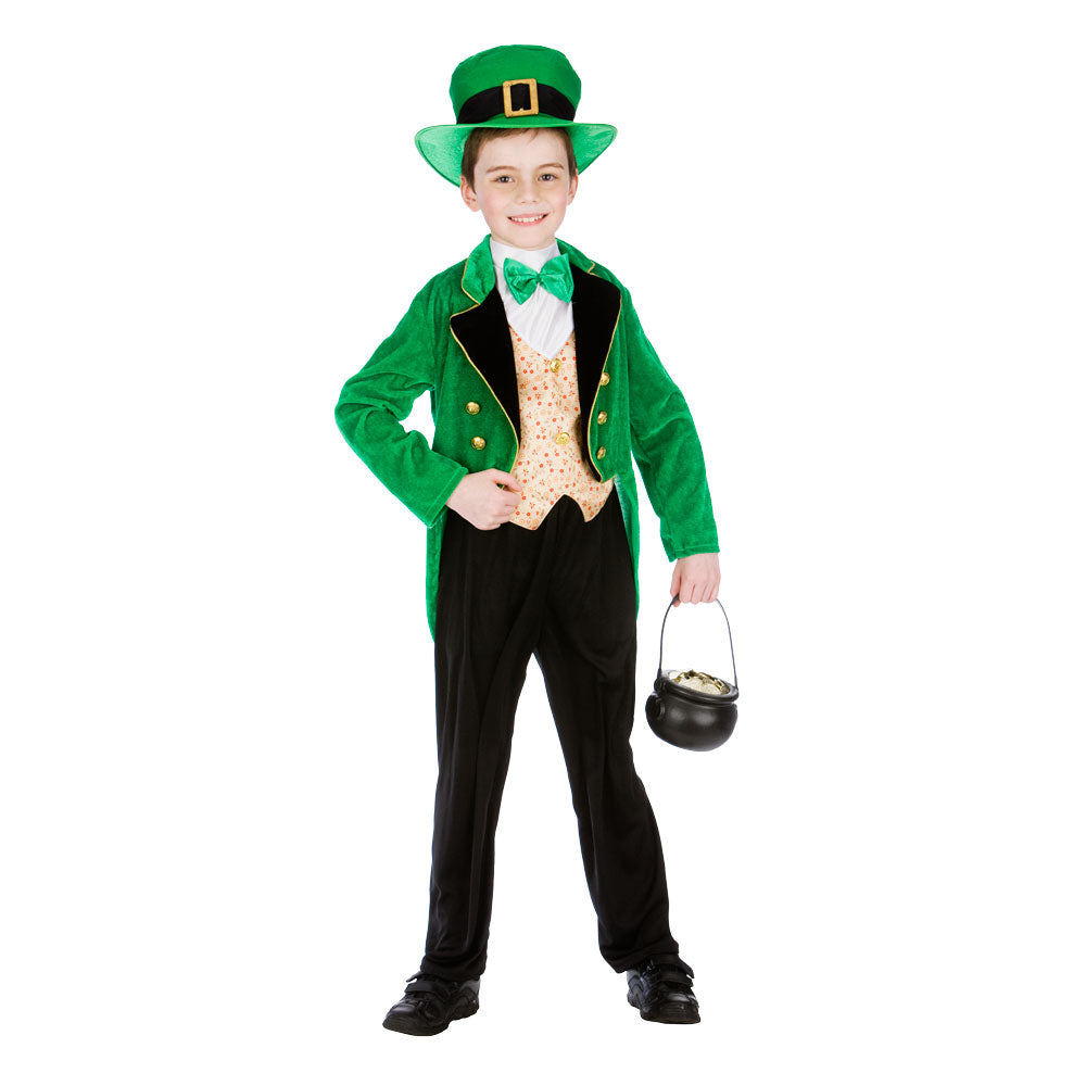 Boy's Leprechaun Deluxe Children's Costume