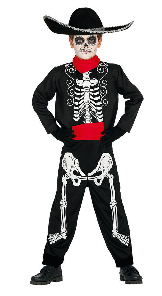 Day of the Dead Senor Child Mexican Costume Boys