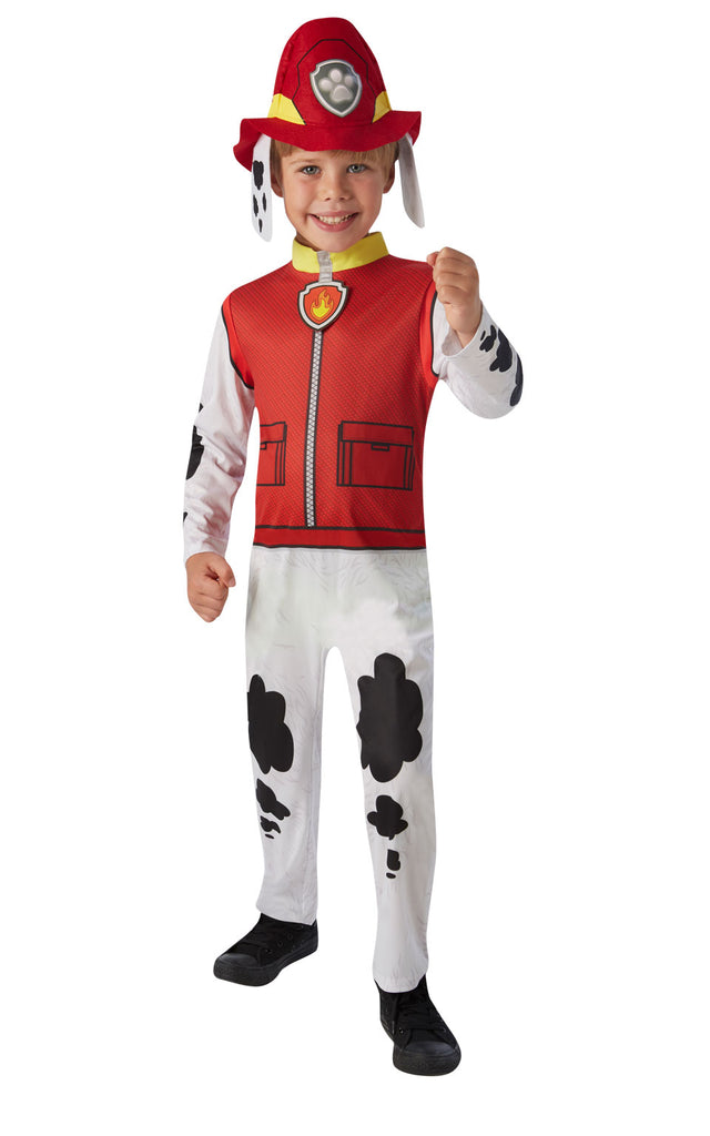 Child's Paw Patrol Marshall boys costume.