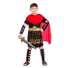 Boys Roman Commander fancy dress costume