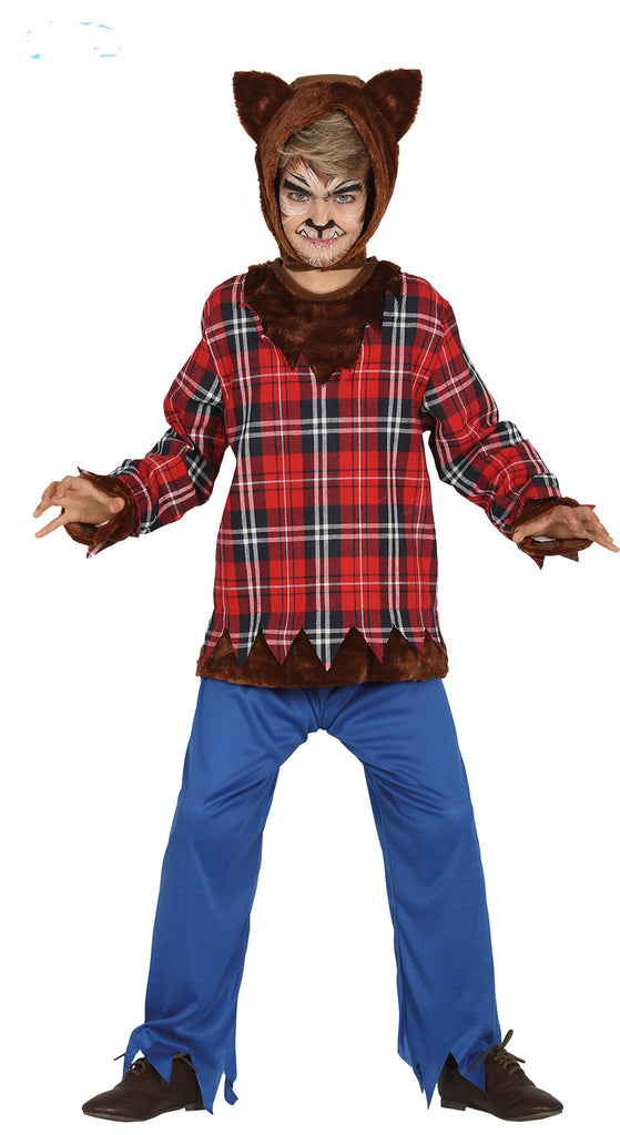 Scottish Werewolf children's costume for boys.
