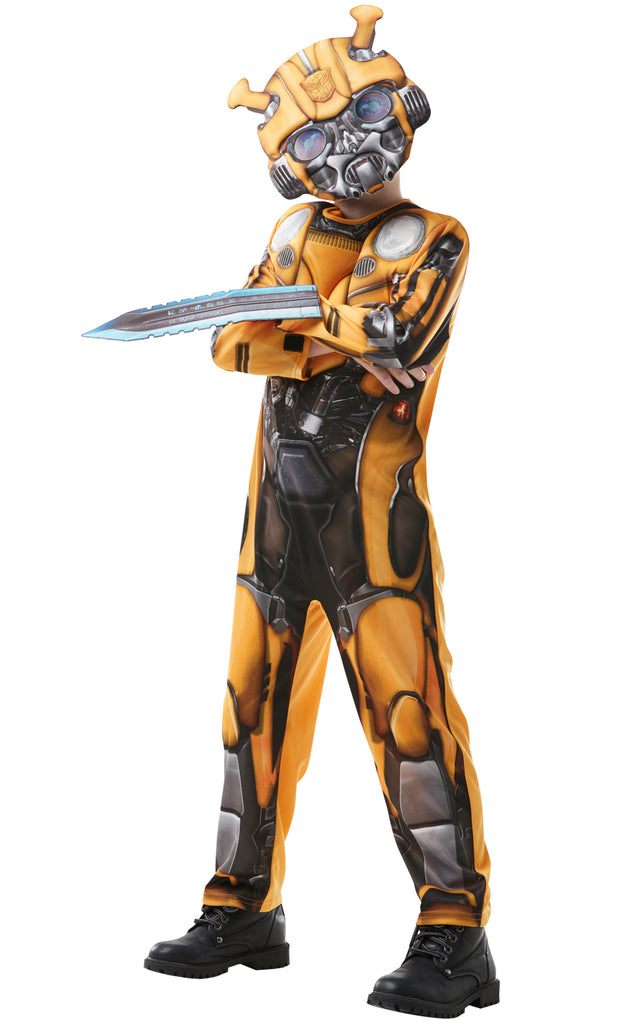 Transformers Deluxe Bumblebee boys outfit.