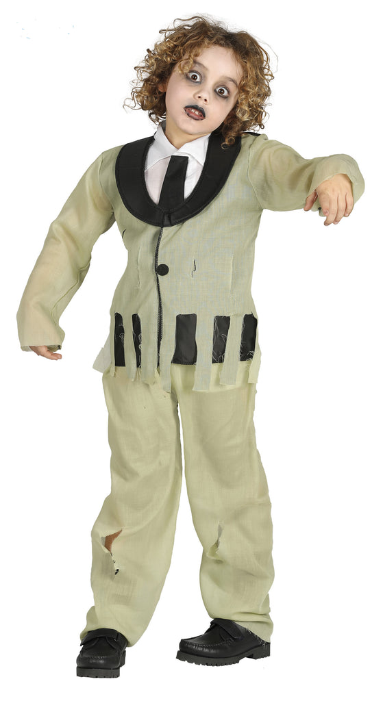 Boys Zombie Groom Kids Costume