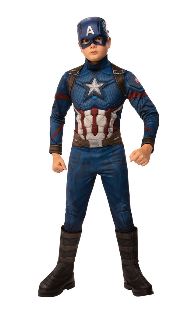 Captain America Avengers Endgame Costume for children.