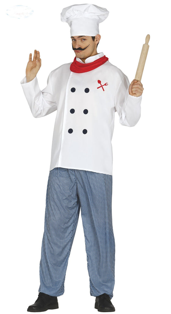 Men's Chef Costume Adult