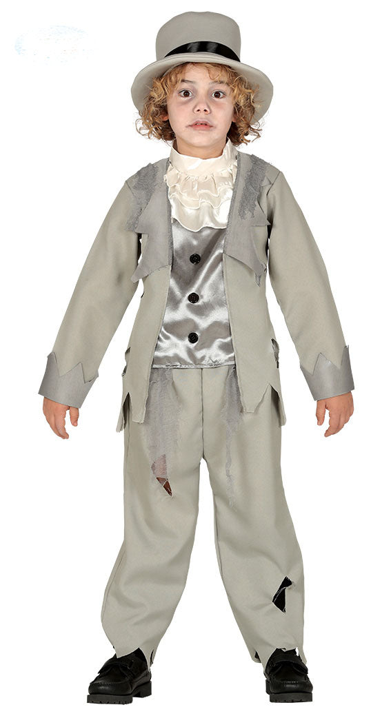 Boys Ghost Groom Costume for Halloween