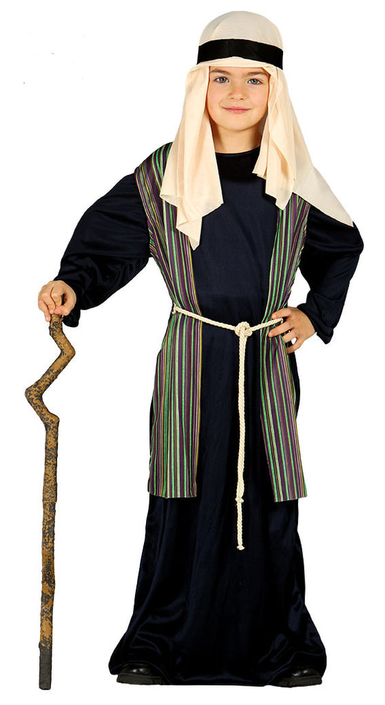 Kid's Shepherd Costume Boys Black
