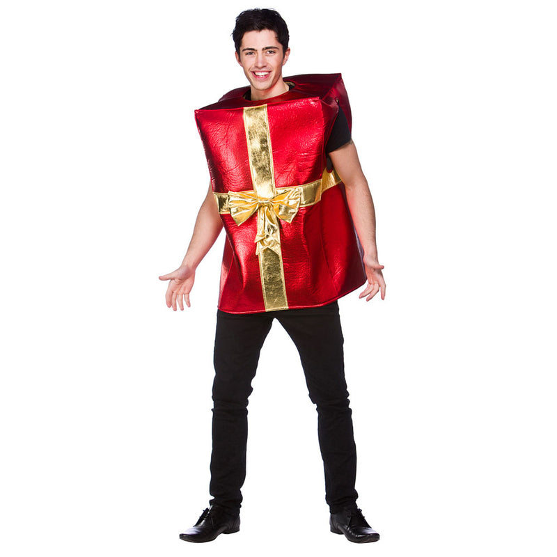Christmas Present Fancy Dress Costume Adult