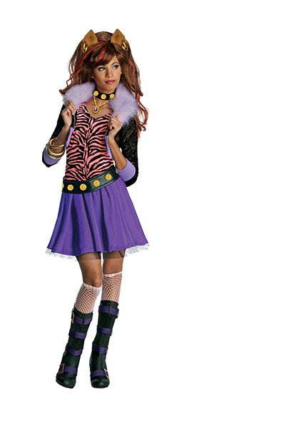 Monster High Costumes - Clawdeen Wolf Costume