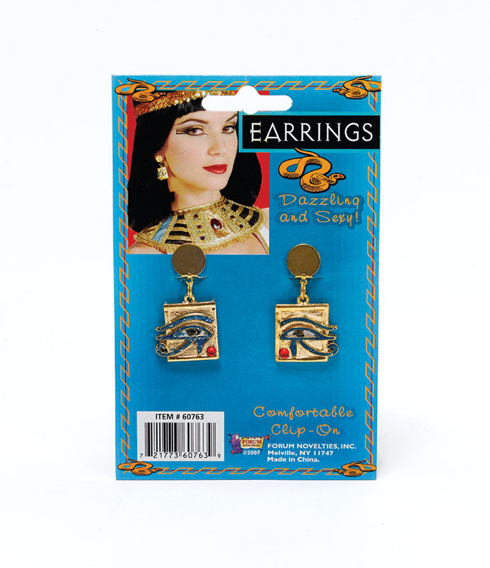 Cleopatra Eye Earrings